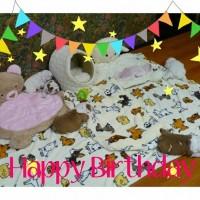 1歳の誕生日おめでとう!(2013.6.16)